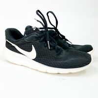 Nike Youth TANJUN GS Running Shoes Black 818381-011 Size 6.5 Y Preowned