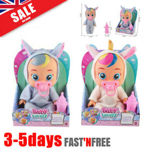 Girls Crying Baby Fantasy Toddler Tears Doll Kids Toy Cry Babies Real Magic Gift