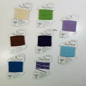 Rainbow Gallery Very Velvet 7 Card Lot Plus Extra 203 207 217 221 226 235 262