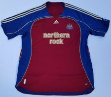Newcastle United FC Northern Rock Adidas climacool soccer jersey men sz 2XL