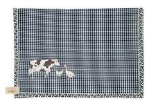 SALE    ANIMAL CHECK blau Tischläufer 50x140cm Clayre & Eef / AC64