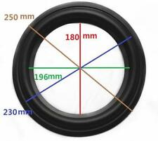 "High Quality 10"" 10inch 250mm Speaker Surround Repair Rubber Edge Replacement *"