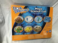 Do and Discover Mega Science Lab Dino Dig Volcano Crystal Eco Dome Habitat