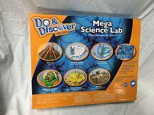 Do and Discover Mega Science Lab Dino Dig Volcano Crystal Eco Dome Habitat