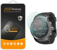 3X Supershieldz LG Watch Sport Tempered Glass Screen Protector Saver