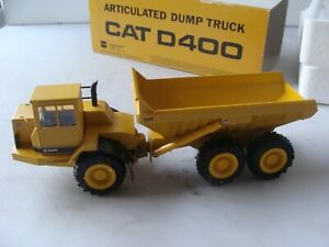 CONRAD 2862 1/50 CAT D400 ARTICULATED DUMP TRUCK - MINT/BOXED - L@@K!!