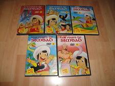 LOS VIAJES DE SIMBAD ANIME EN DVD SERIE COMPLETA CON 5 DISCOS COMO NUEVA