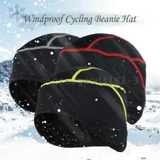 Thermal Fleece Winter Windproof Beanie Hat Cap Outdoor Sports Running Y6l9