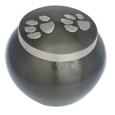 Pet Urn for Ashes Dog Cat Cremation Funeral Memorial Round Pet Ashes Urn 2 Sizes