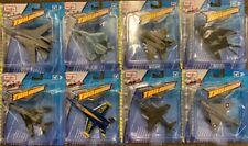 2018 Maisto Tailwinds Jet Lot, F-14, F-22, MIG-29, F-117, B-1B, FA-18, AV-8B, F4