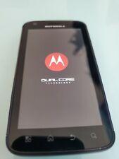 "Black Motorola ""Atrix 2"" 4G Mb860 4.0 inches 5.0Mp Camera Wifi - Pre-Owned"