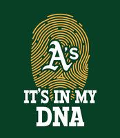 Oakland A's It's In My DNA shirt baseball Athletics Chapman Laureano Andrus Oak