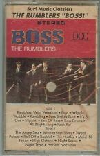 "THE RUMBLERS - SURF MUSIC CLASSICS - ""BOSS"" - CASSETTE - NEW"