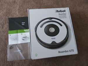 Irobot Roomba 670 Robot Vacuum Works Great Simple, Clean, Navigation Home App