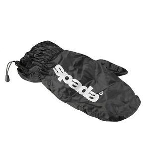 Waterproof Glove Overmitts > Spada Motorcycle WP Motorbike Overgloves - Black
