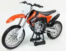 KTM SXF 350 1:12 Die-Cast Motocross Enduro Mx Motorbike Kids Toy Model New Ray