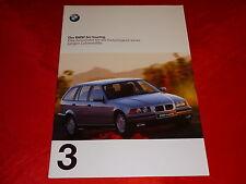 BMW 3er E36 touring 316i 318i 320i 323i 328i 318tds 325tds Prospekt von 1997