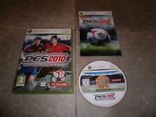 Jeu XBOX360 PAL Fr (Version Française): PES 2010 PRO EVOLUTION SOCCER - Complet