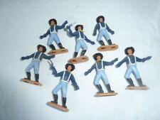 Lot de 7 Soldats Nordistes PlastiquesTIMPO BRISTAIN