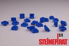 LEGO® 20x 3024 ***NEU*** Platte 1x1 / Platten / Steine / Basic / blau / 302423