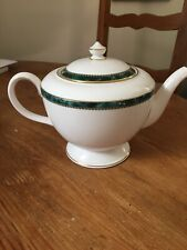 Royal Worcester Medici Green Teapot Never Used