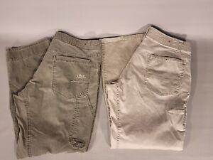 2 Pair Men's Kuhl Hiking Pants REVOLVR & SLACKR Size 36 x 32