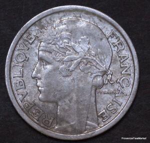 PIECE FRANCE 2  Francs MORLON  ALU 1948  fr55