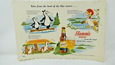 Hamm's Beer Tales from the land of sky blue waters Song Sheet - One sided