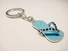 Cute Bag Accessory Aussie Boy Baby Shower Gift Present Thong Diamante Keyholder