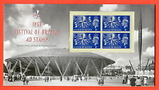 2014 -- 1951 Festival of Britain 4d Stamp Royal Mail Reproduction Pack