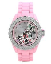 ED HARDY BY CHRISTIAN AUDIGIER ROXXY RX-LP LADIES JAPAN MOVEMENT CRYSTAL WATCH