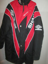Manchester United 1992-1993 Ferguson Bench Coat Football Size Small /21970
