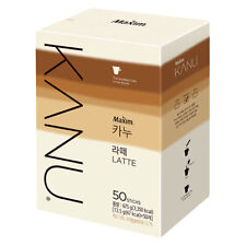 Maxim KANU Latte Korean Instant Coffee Mix 50 Sticks X 13.5g