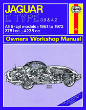 Jaguar E-Type 3.8 + 4.2 Reparaturanleitung workshop repair manual Handbuch book