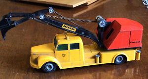 Scania Vabis Akerman Excavator on Truck #445 Tekno 1:50