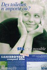 Publicité advertising 2000 Le Sanibroyeur SFA