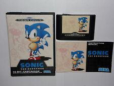 Sonic The Hedgehog. SEGA Mega Drive.