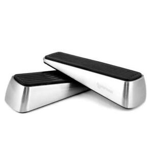 2 Pack Heavy Duty Door Stopper, Wedge Does Not Budge