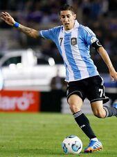 POSTER ANGEL DI MARIA MESSI REAL MADRID ARGENTINA 2014 SOCCER FOOTBALL CALCIO 1