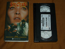 Specters starring Donald Pleasence/John Pepper/Katrine Michelsen (VHS, 1987)