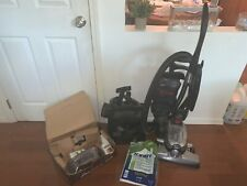 Kirby Avalir with all vacuum attachments, bags, and carpet cleaner attachments