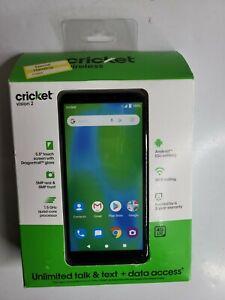 Cricket Vision 2 16GB - Gray (Prepaid) Smartphone