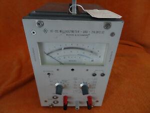 Tolles Rohde Schwarz - Messgerät - 216.3612.02 - HF-DC Millivoltmeter - URV SK17