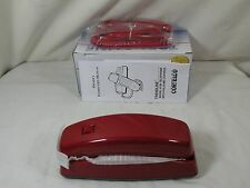 Cortelco 815047-VOE-21F Corded Trendline Red Desk/Wall Telephone 8150 NEW