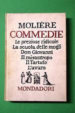 Commedie di Moliere 1^ ed. Mondadori 1960 - Fuori commercio