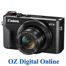 NEW Canon PowerShot G7 X II Mark 2 Camera G7X 20.1MP Full HD Wifi NFC 1 YrAuWty