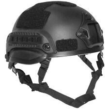 """US Helm """"mich 2002"""" Rails schwarz Abs-kunststoff"""