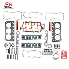 Head Gasket Set Bolts Fit 97-05 Chevrolet Oldsmobile Buick Pontiac 3.8L V6 12V