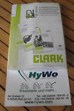 Clark CTM CEM 10-20 Lot 7097 / 7102 Betriebsanleitung Ersatzteilkatalog
