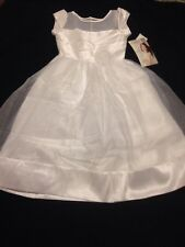 NWT  Mia Sophia 8 & 12, Girls White First Communion, Special Occasion Dress